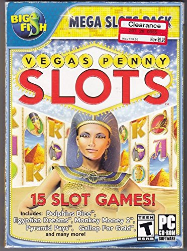 Big Fish Mega Slots Pack VEGAS PENNY SLOTS 15 slot - Warehouses In For Vegas Las Sale