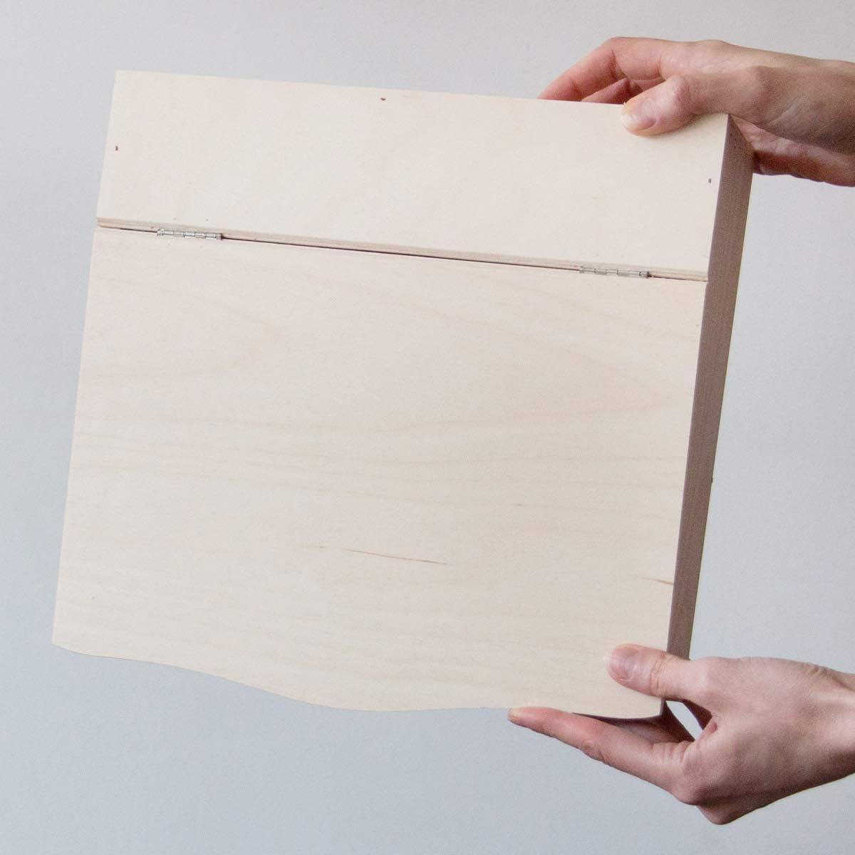 Repisa para escritorio Liedeco madera