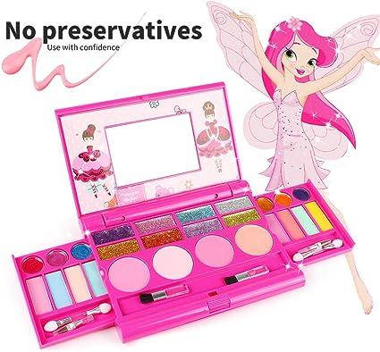 Amazon.com: Juego de cosméticos para niños, kit de ...
