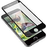 iPhone6/iPhone6sガラスフィルム 液晶保護フィルム 炭素繊維 3D Touch 高透過率 硬度9H 全面保護 自動吸着 気泡ゼロ 指紋防止 飛散防止 高度感タッチ