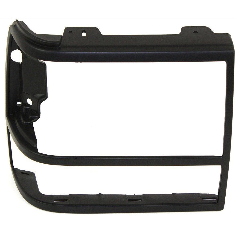 Evan-Fischer EVA18972057002 Headlight Door for Ford Bronco II 89-90 RH and LH With parking light hole