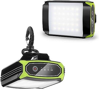 2 en 1 recharge étanche DEL Camping Lanterne Lampe Light /& Power Bank Chargeur