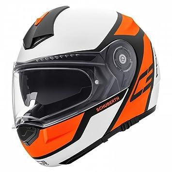 Schuberth C3 Pro Echo Naranja Motocicleta Casco