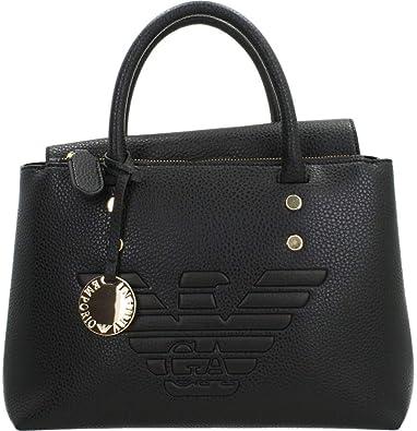 Oferta amazon: Emporio Armani Eagle Handbag with Logo