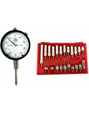 """Dial Indicator 0-1"""" x0.001"""" With 22 pcs point sets"""