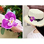 HZOnline-Artificial-Silk-Phalaenopsis-Flower-Heads-Fake-Butterfly-Orchid-Head-Floral-Bouquet-for-Crafts-Wedding-Decoration-DIY-Making-Bridal-Hair-Clip-Headbands-Dress-Photography-Props-20pcs-Purple