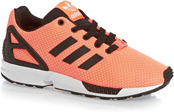 Marketing de motores de búsqueda Marquesina Haz un esfuerzo  adidas Originals ZX Flux Unisex de niños Sneakers, Color Naranja, Talla 13  Child: Amazon.es: Zapatos y complementos