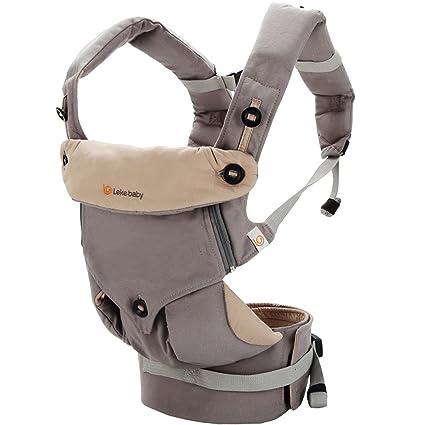 Mochila portabebés con soporte de cabeza para recién nacido, de la ...