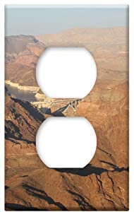 Hoover Dam Las Vegas Arizona Dam Lake Nevada -Outlet Cover Switch Plate