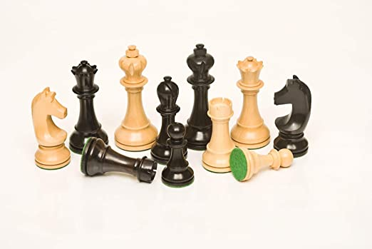 197 Ebony & Boxwood 3.75 Chess Set