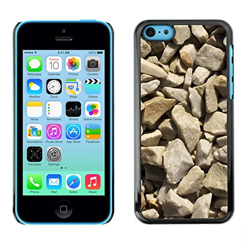 Premio Sottile Slim Cassa Custodia Case Cover Shell // V00002432 Texture Gravel // Apple iPhone 5C
