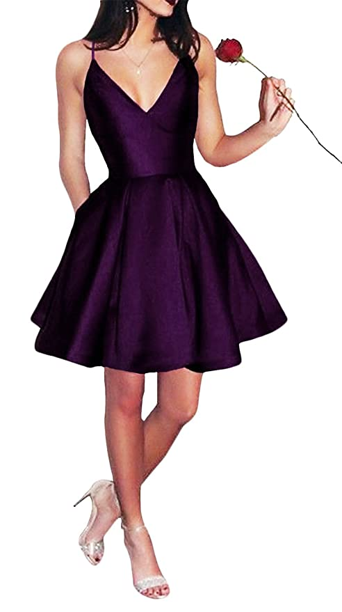 The 8 best purple homecoming dresses under 100