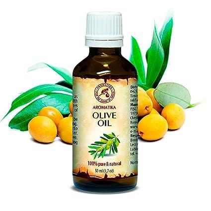 Aceite de Oliva 50ml - Olea Europaea Fruit Oil - España - Presión en Frío -