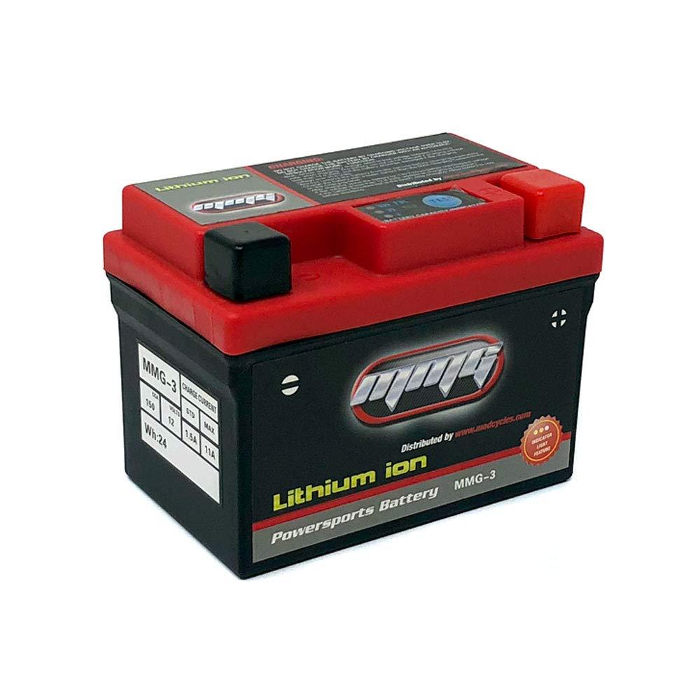 Amazon.com: Batería de litio sellada Powersports 12 V 150 ...