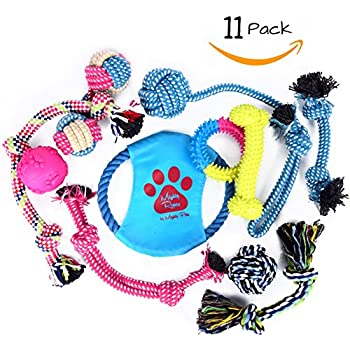 Mighty Ropes Dog Toys Variety Pack (11- Pack)