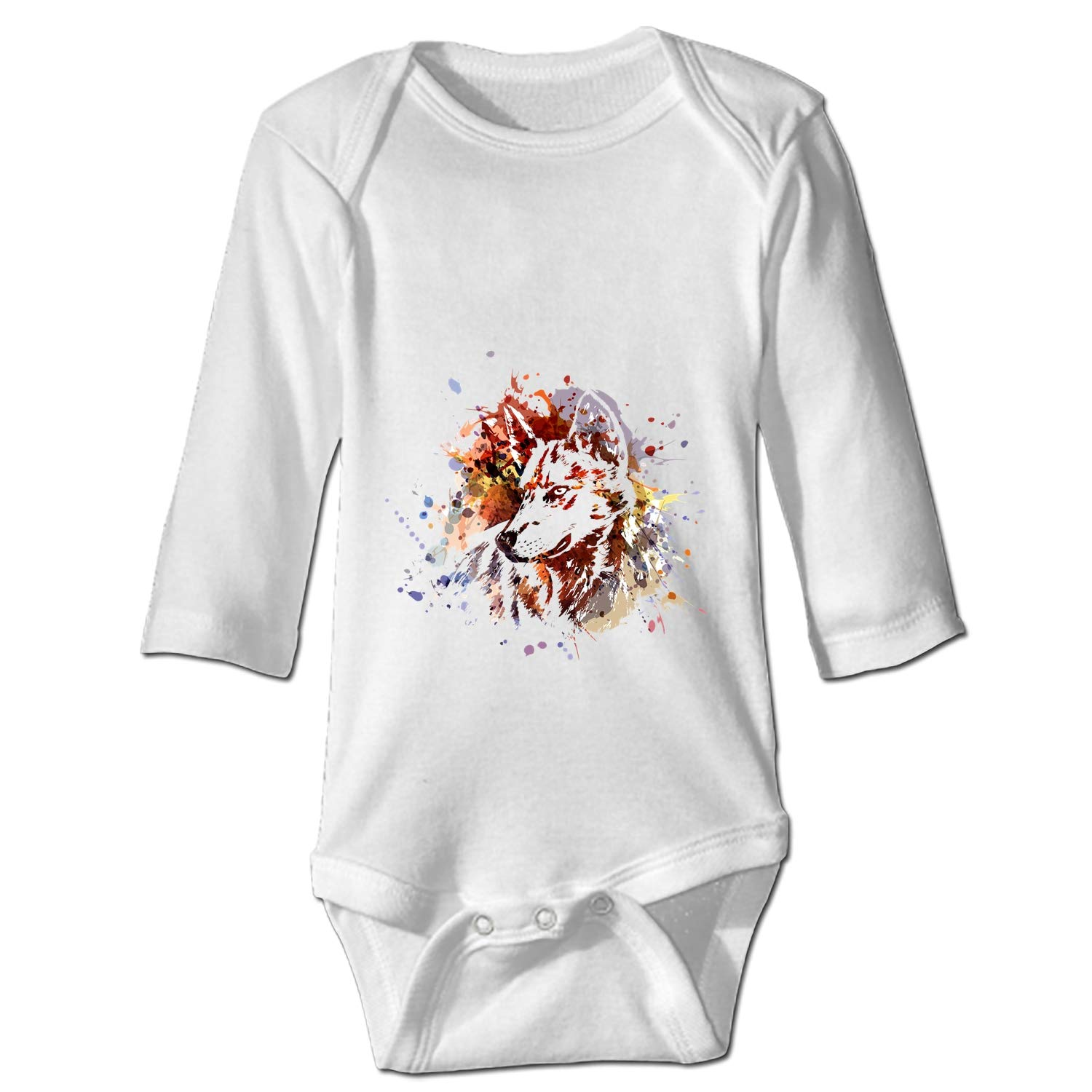 BABBY Kawaii Dachshund Printed Personalized Infant Bodysuit One-Piece
