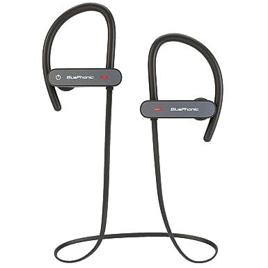bluephonic Bluetooth inalámbrico auriculares Beats sonido estéreo | HD | sudor y ajuste en la oreja