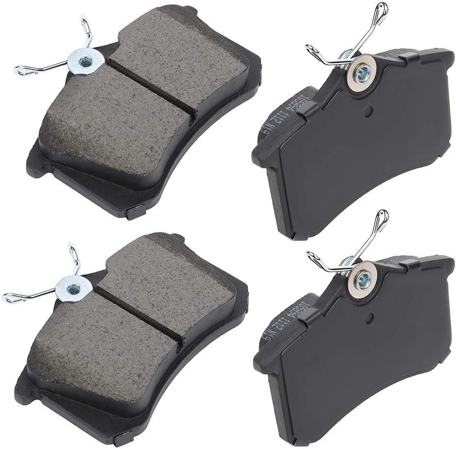 For 02 03 04 05 06 07 08 Mini Cooper Front Rear Premium Ceramic Discs Brake pads
