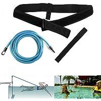 KIKILIVE Cinturón de natación para Exteriores, cinturón de Entrenamiento de natación, cinturón de Resistencia para…