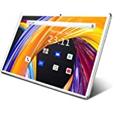 Tablet 10.1 Inch Android 9.0 3G Phone Tablets with 32GB ROM Dual Sim Card 2MP+ 5MP Camera, WiFi, Bluetooth, GPS, Quad…