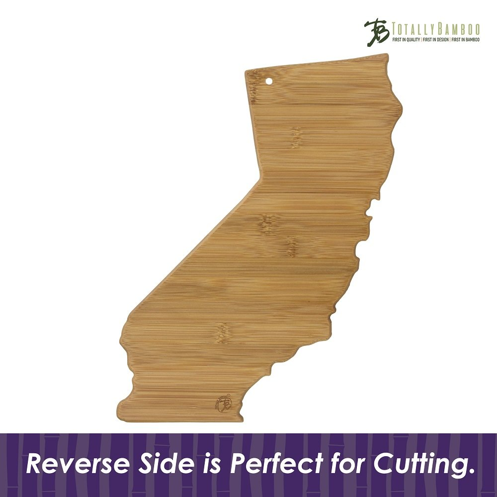 Totally Bamboo California State Destination Bamboo Serving and Cutting Board by Totally Bamboo (Image #5)