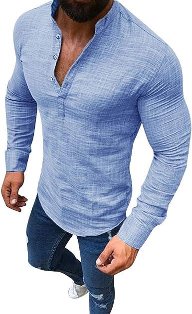 Camicia uomo Tipo/'s cotone slim fit stretta aderente made in italy