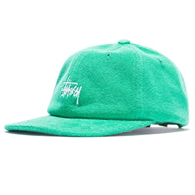 Stussy Stock Terry Cloth Low Pro Gorra Hombre Verde Ajustable ...