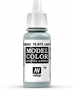 Vallejo Light Sea Grey Paint, 17ml