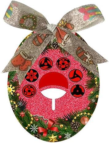 All Sharingan Eyes Naruto Custom Christmas Tree Hanging