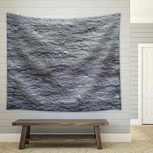 Rough Graphite Background Fabric Wall