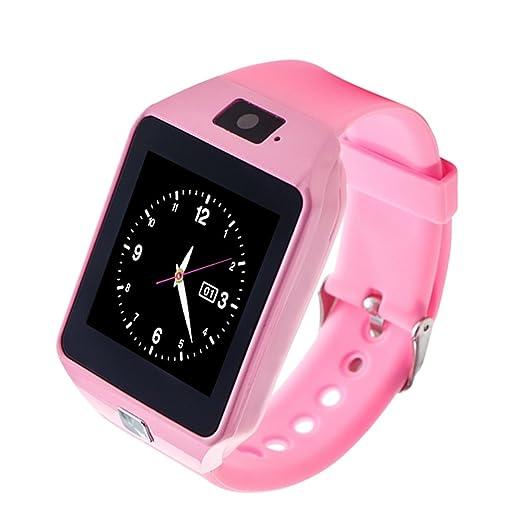 Reloj niño versión pintada del reloj inteligente dz09 - reloj para estudiantes, posicionamiento GPS/puede responder el reloj del teléfono/contador de ...