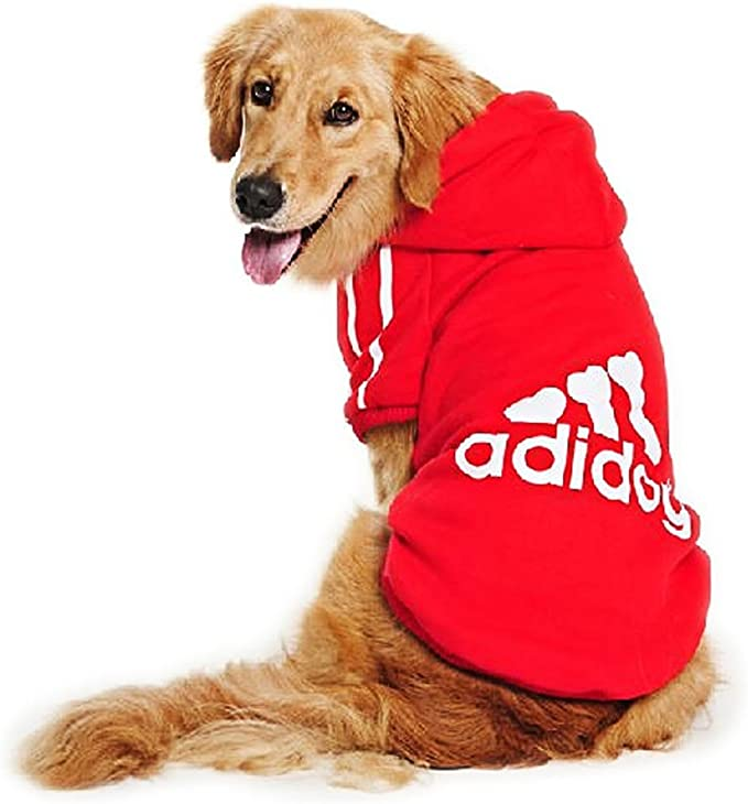 EASTLION Dog Cat Hoodie Warm Sweater Cotton Pullover Pet Clothes Apparel for Puppy Small Dogs Cats,Black XS