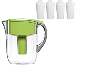 9e17c824d1a Image Unavailable. Image not available for. Color  Brita Large 10 Cup Water  Filter Pitcher ...