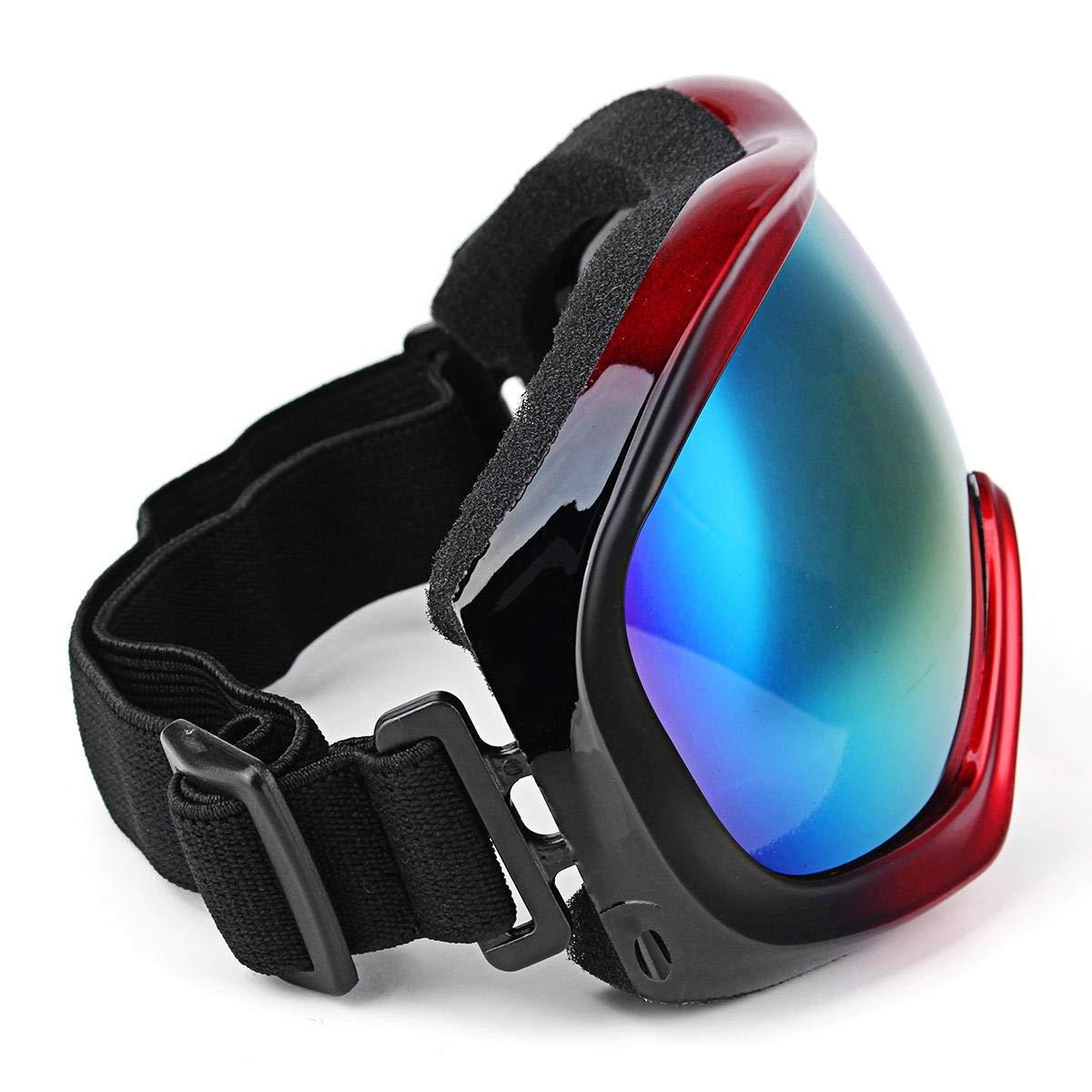 YongJiaDianZi オートバイミラーアイレーシングミラーアイムーブメントゴーグルメガネユニセックス防風防塵4色 青