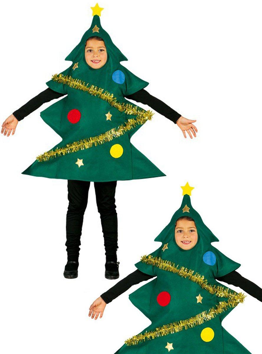 Guirca - Disfraz Arbol de Navidad, 5-6 años, Multicolor (42457 ...
