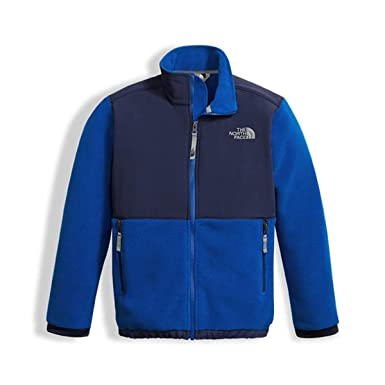 d3ddce43788c Amazon.com  The North Face Boys Denali Full Zip Jacket in Cobalt ...