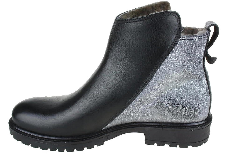 SAVANA Kurzstiefel Momino Lammfell Reißverschluss: Amazon.de: Schuhe &  Handtaschen