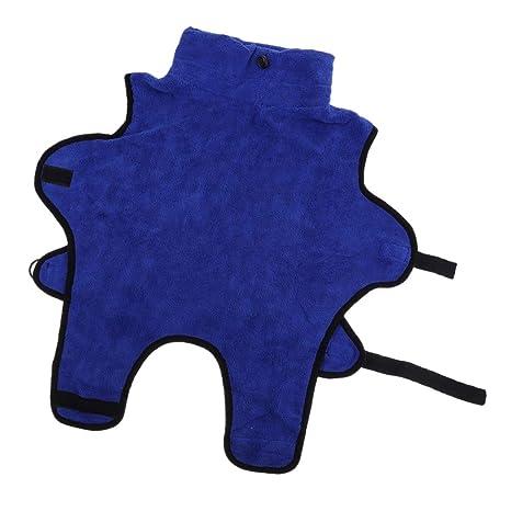 FLAMEER Toalla de Baño para Perro Mascota Gato Accesorios de Costura Manualidades Decorracion - Azul S