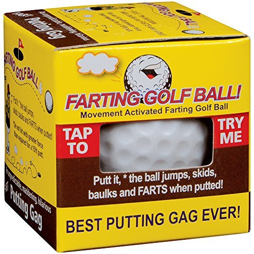 Farting Golf Ball Jumps Wobbles & Farts
