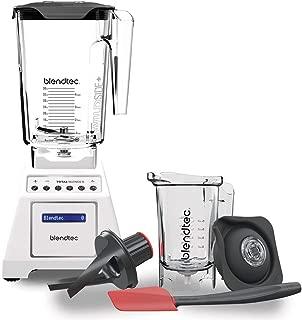 product image for Blendtec Total Classic Original Blender - WildSide+ Jar and Twister Jar BUNDLE - Professional-Grade Power - 6 Pre-programmed Cycles - 10-speeds - White