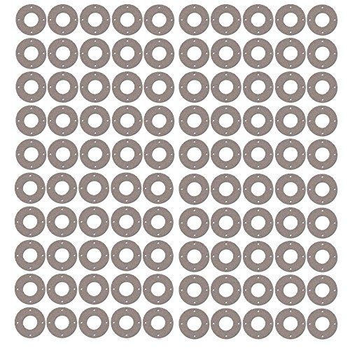 1//8 Thick Sterling Seal CFF7540.300.125.150X5 7540 Vegetable Fiber Full Face Gasket Pressure Class 150# Pack of 5 3 Pipe Size 3.5 ID