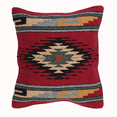 El Paso Designs Aztec Throw Pillow Covers, 18 X 18, Hand Woven in Southwest and Native American Styles. 6 Review
