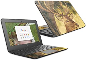 "MightySkins Skin Compatible with HP Chromebook 11 G6 11.6"" (2018) - Deer Camo 