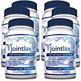 Jointlax - 6 Bottles - The Best Joint Support Supplement - Relieves and comforts joints, Increases mobility and Supports healthy joint function. Contains Glucosamine Sulfate and MSM