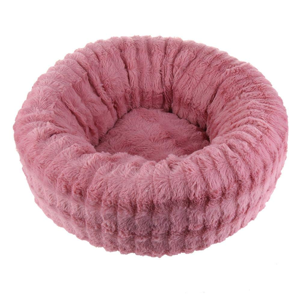 DomyBeste Pet Bed, Plush Fleece Bed for Cats Puppies & Small Dogs Winter Warm Removable Kennel Thick Pets Puppy Cage House
