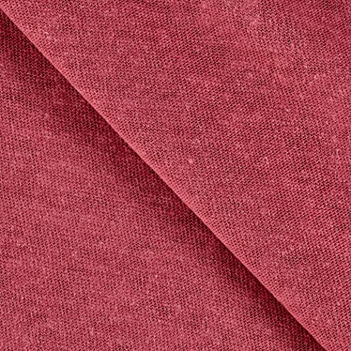 TELIO Hemp Jersey Knit Pink Fabric The Yard ()