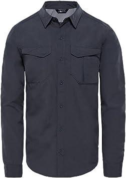North Face M S/S Sequoia Camisa, Hombre, Gris (Asphalt), S: Amazon.es: Deportes y aire libre