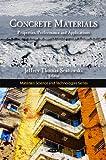 Concrete Materials, Jeffrey Thomas Sentowski, 1607412500