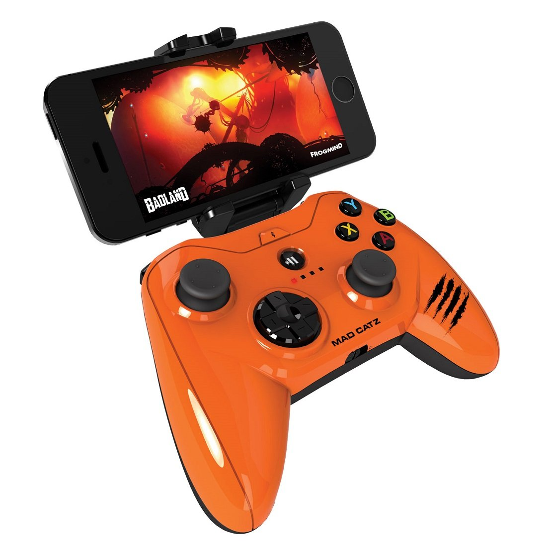 Mad Catz Micro C.T.R.L.i Mobile Gamepad Made for Apple IOS, Apple iPhone 7, iPod and iPad by Mad Catz