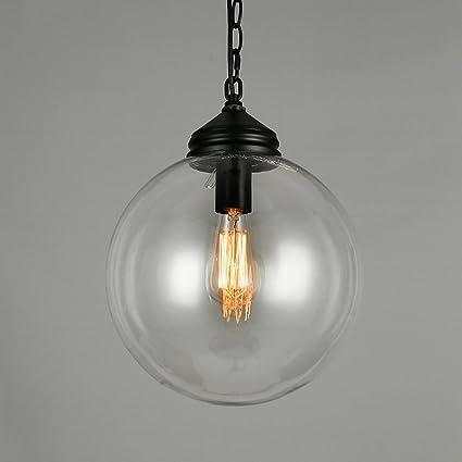 Moderno minimalista transparente bola de cristal de una sola ...